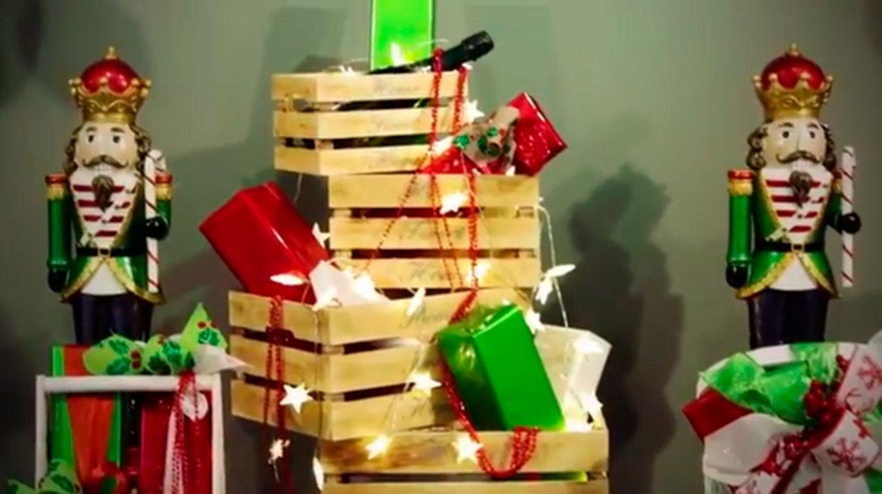 Decoración para escaparates y tiendas Evaristo Riera, Navidad 2017