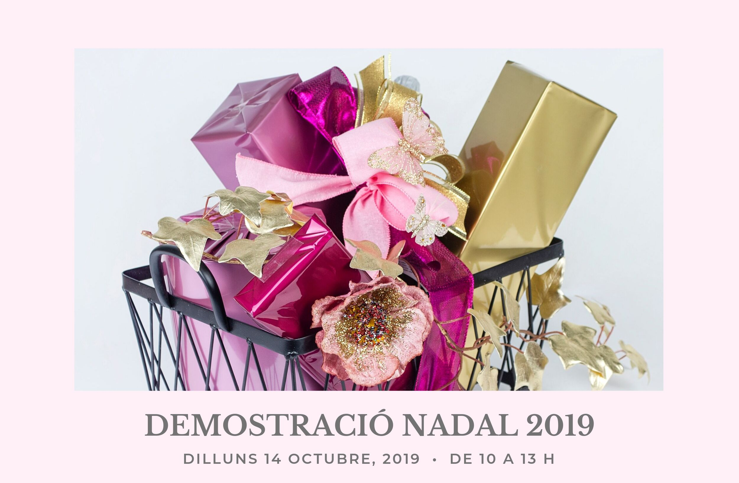 demostracio de com fer un packaging paquet lot de nadal