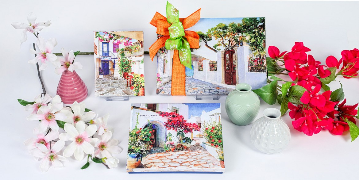 gift boxes packaging spring summer pastry shop easter